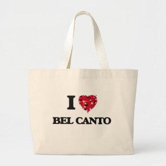 I Love My BEL CANTO Jumbo Tote Bag