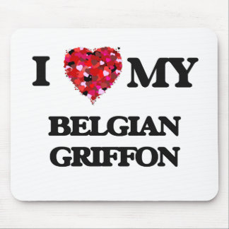 I love my Belgian Griffon Mouse Pad