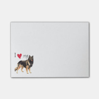 I Love my Belgian Tervuren Post-it® Notes