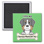 I Love My Bernese Mountain Dog Magnet