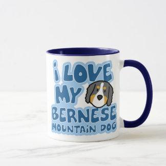I Love My Bernese Mountain Dog Mug