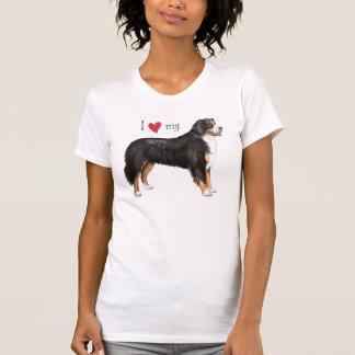 I Love my Bernese Mountain Dog T Shirts