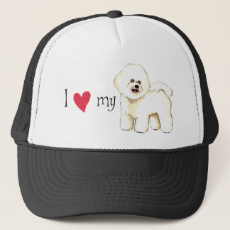 I Love my Bichon Frise Trucker Hat