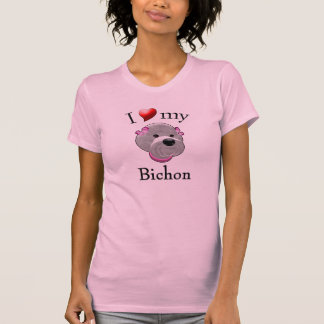 I Love My Bichon T-Shirt