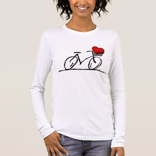 I love my bicycle long sleeve T-Shirt