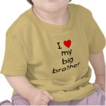 I Love My Big Brother T-shirt