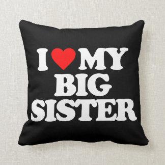 I LOVE MY BIG SISTER THROW CUSHION