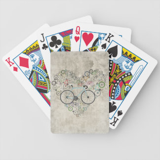 I Love My Bike Bicycle Playing Cards