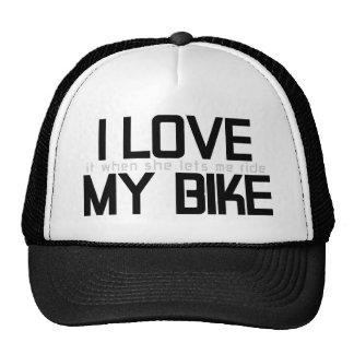 I LOVE MY BIKE CAP