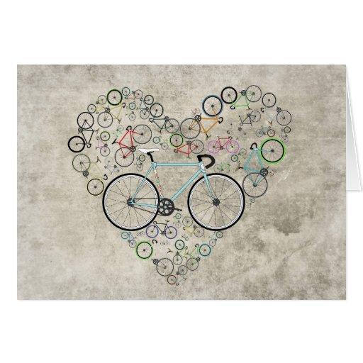 I Love My Bike Cards