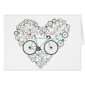 I Love My Bike Card