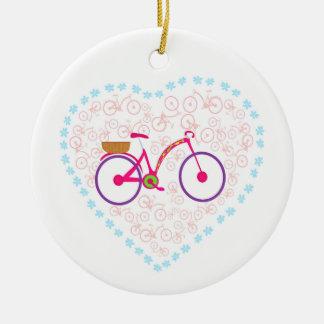 I Love My Bike Decoration