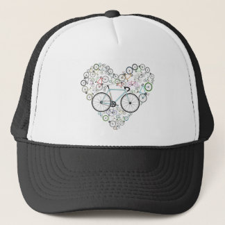 I Love My Bike Trucker Hat