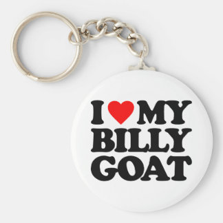 I LOVE MY BILLY GOAT KEY RING
