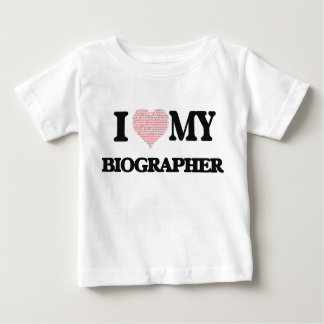 I love my Biographer (Heart Made from Words) Tshirt