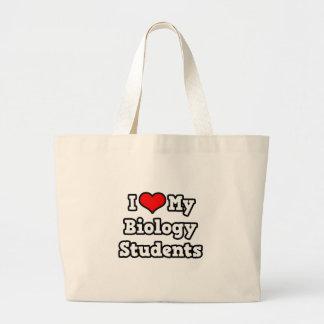 I Love My Biology Students Tote Bag