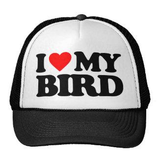 I LOVE MY BIRD CAP