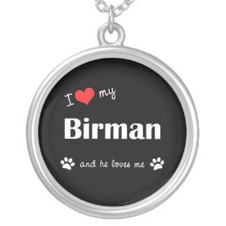 I Love My Birman (Male Cat) Custom Jewelry