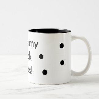 I love my black holes! mug
