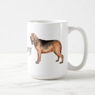 I Love my Bloodhound Coffee Mug