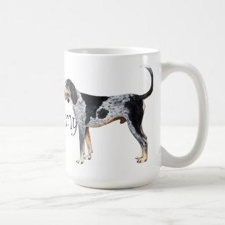 I Love my Bluetick Coonhound Coffee Mug