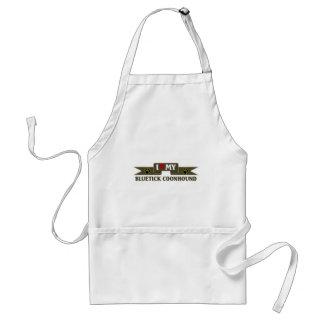 I love my bluetick hound standard apron