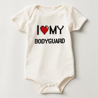I love my Bodyguard Baby Bodysuit
