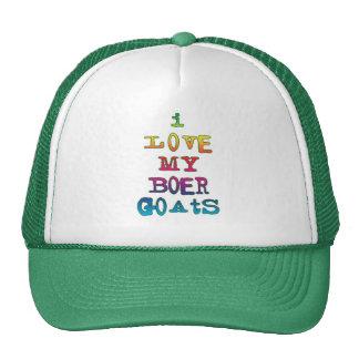 I Love My Boer Goats Cap