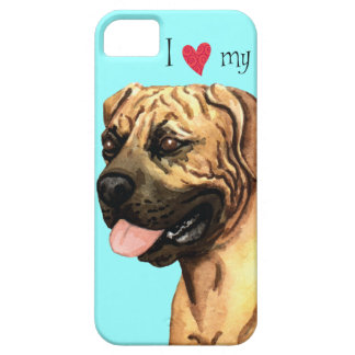 I Love my Boerboel iPhone 5 Case