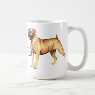 I Love my Boerboel Basic White Mug