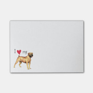 I Love my Boerboel Post-it® Notes