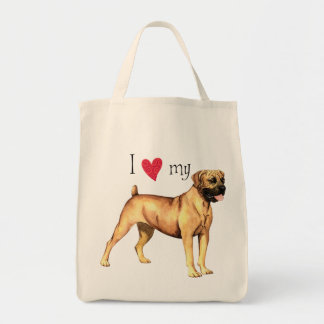 I Love my Boerboel Tote Bag