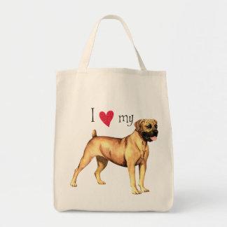 I Love my Boerboel Tote Bag