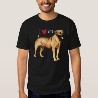 I Love my Boerboel Tshirt