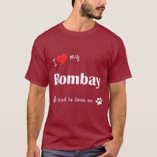 I Love My Bombay (Male Cat) T-Shirt