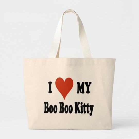 I Love My Boo Boo Kitty Tote Bag