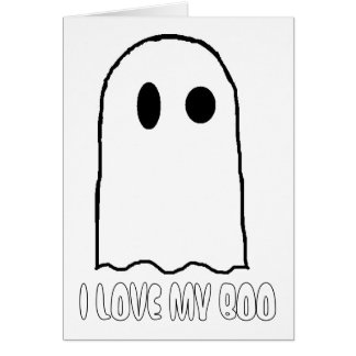 I LOVE MY BOO CARD