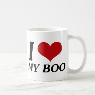 I Love My Boo (Heart) Coffee Mug