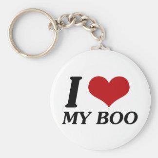I Love My Boo (Heart) Key Ring