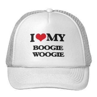 I Love My BOOGIE WOOGIE Trucker Hat