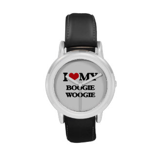 I Love My BOOGIE WOOGIE Watches