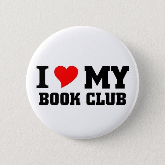 I love my Book Club 6 Cm Round