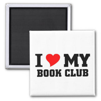 I love my Book Club Magnet