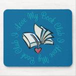 I Love My Bookclub Mousepad