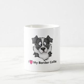 I love my Border Collie Basic White Mug