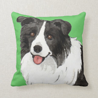 I Love my Border Collie Cushion