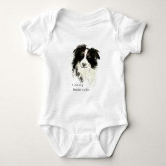 I love my Border Collie Dog Pet Animal T Shirt