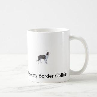 I love my Border Collie Mug! Basic White Mug