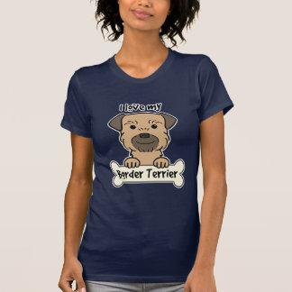I Love My Border Terrier T-Shirt