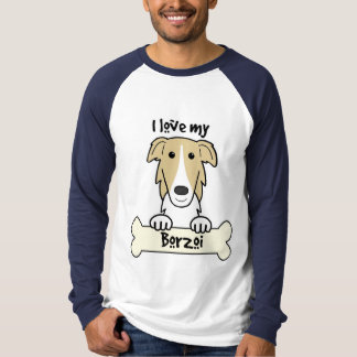 I Love My Borzoi T-Shirt